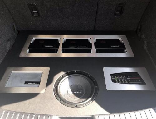Audio upgrade Mazda 3