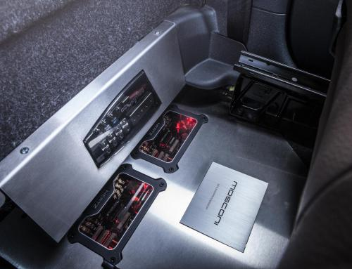 Audio upgrade Volkswagen Caddy