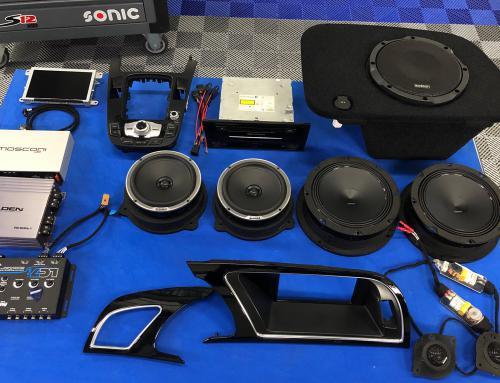 Audio upgrade Audi S5