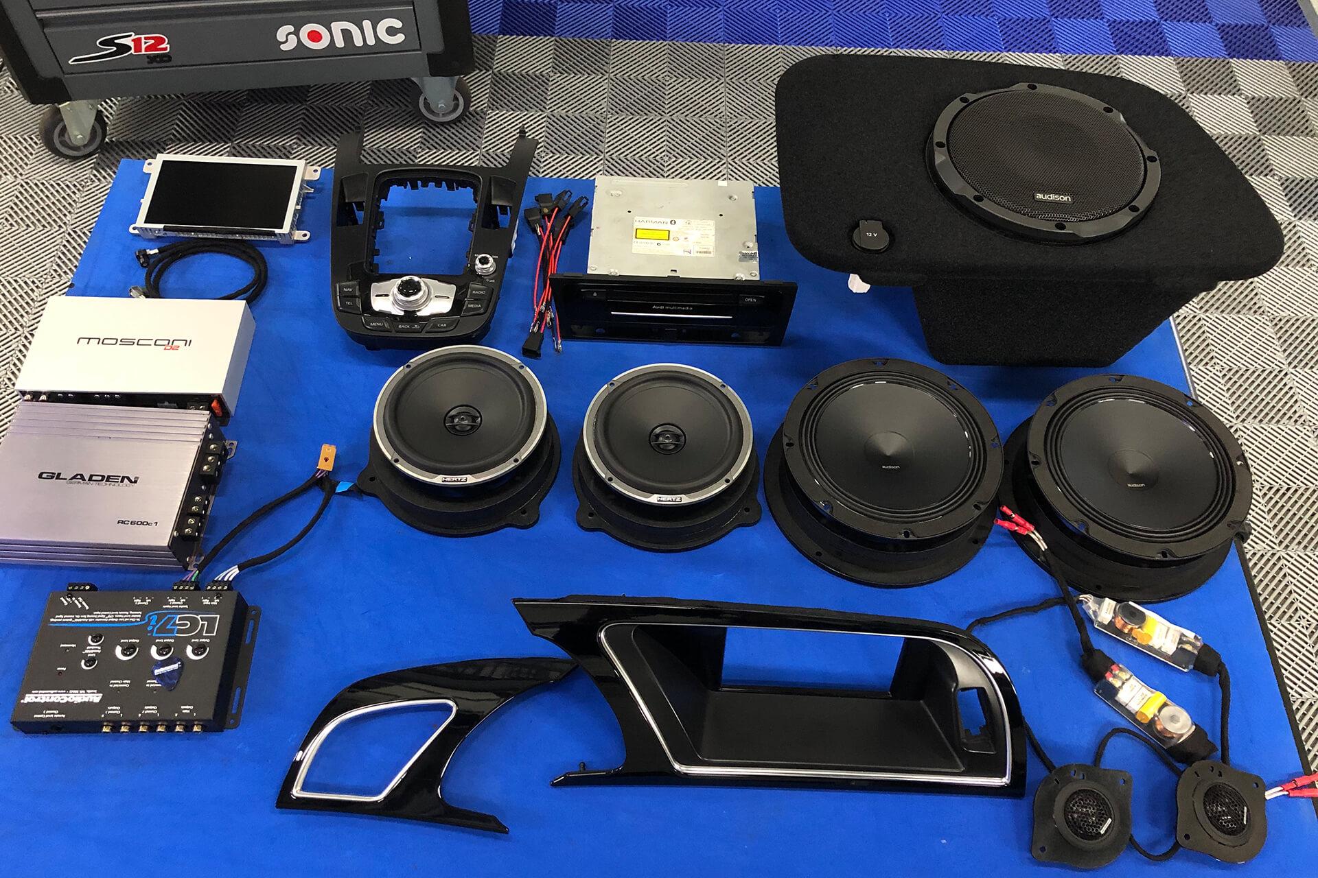 Audi audio upgrade 2