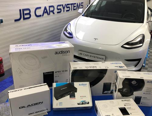 Audio upgrade Tesla Model 3