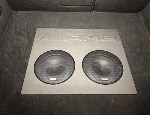 Audio upgrade Mercedes CLA Shooting Brake