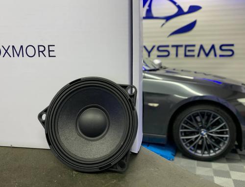 Audio upgrade BMW 3 serie Cabrio