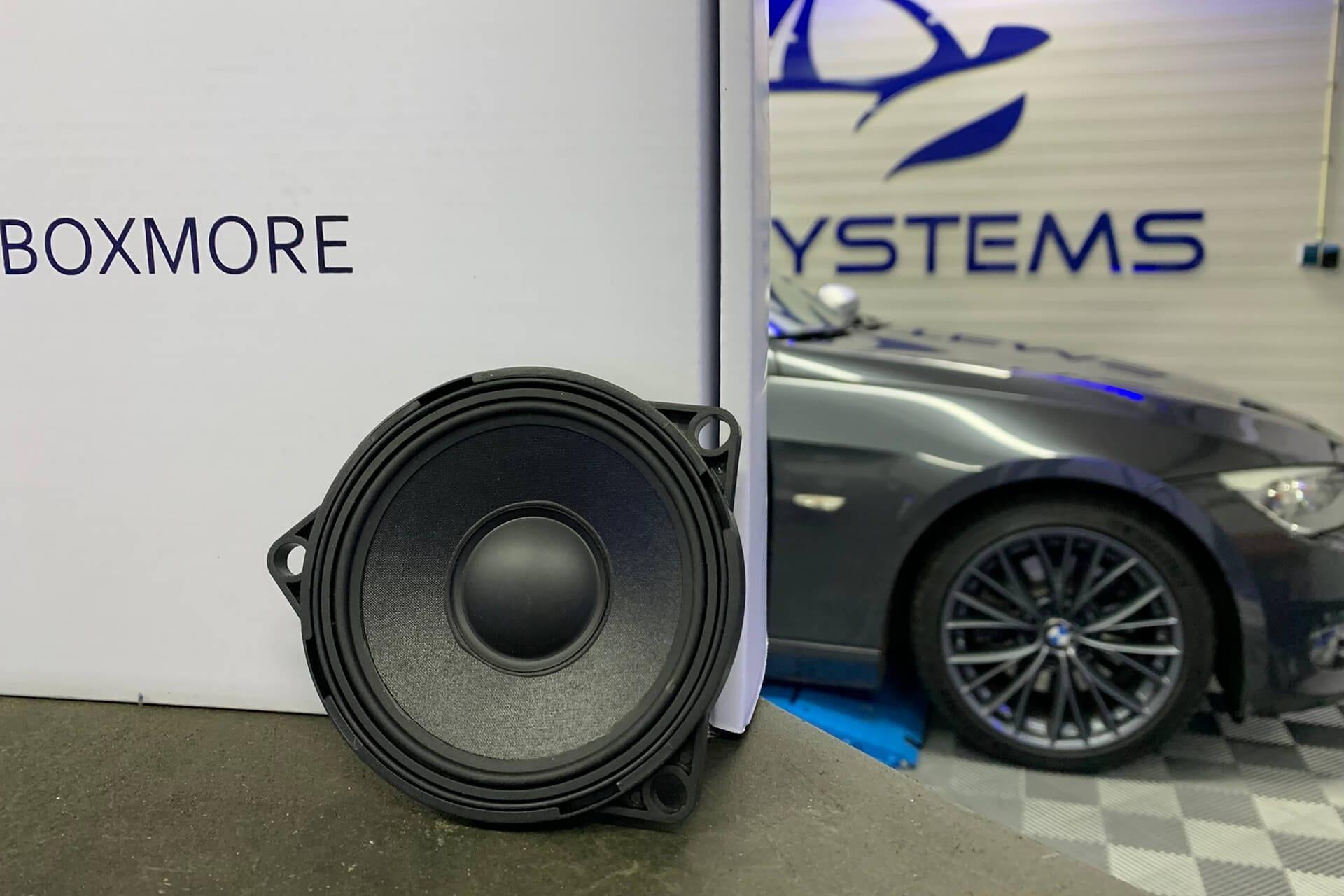 Boxmore speaker