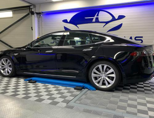 Audio upgrade Tesla Model S